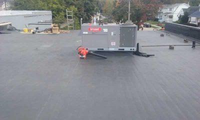 Commercial Flat Roof Repair Service - Metro Detroit, MI