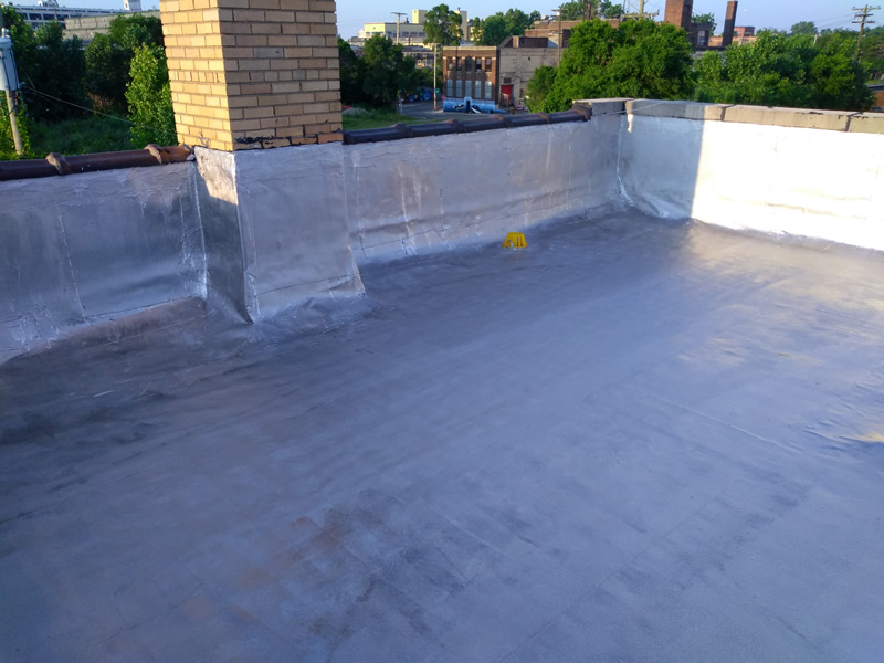 Detroit Flat Roof Repair - After