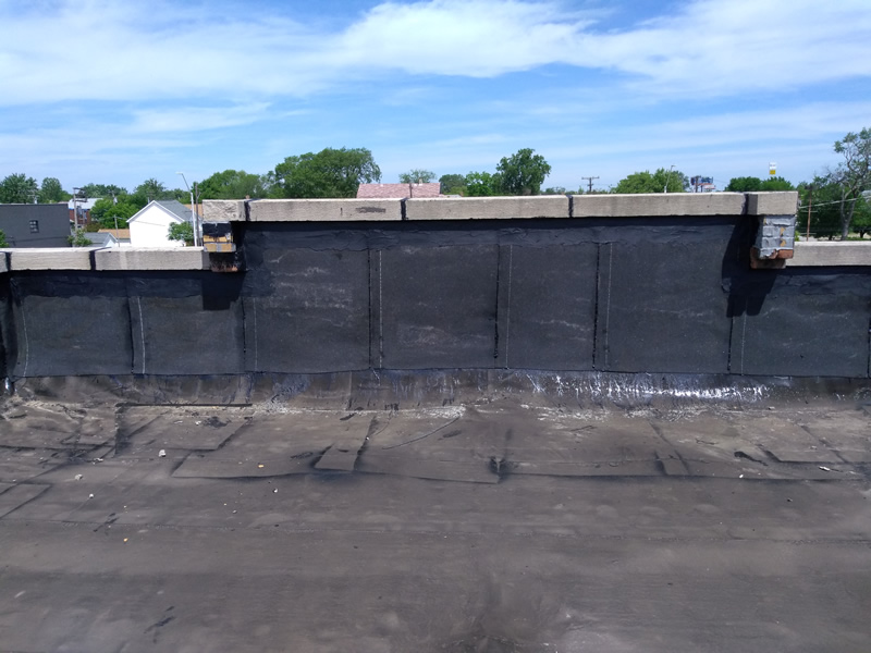 Detroit Flat Roof Repair - During