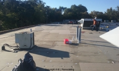 Commercial Flat Roof Repair - Detroit, MI (After)