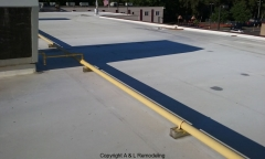Commercial Flat Roof Repair - Detroit, MI (Before)