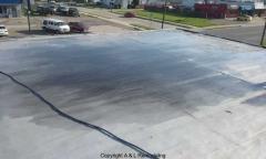 Commercial Flat Roof Repair - Eastpointe, MI (Before)
