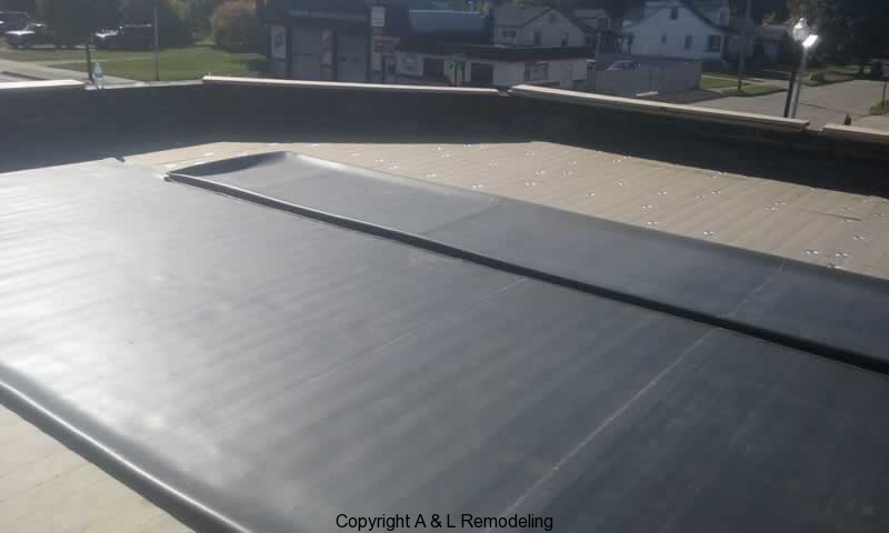 Commercial Flat Roof Projects Metro Detroit Residential